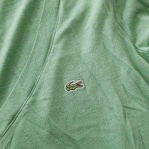 Lacoste Tops - Vneck long sleeve tshirt